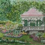 Gazebo Butchart Gardens