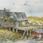 The Wharf Cape Breton Island, 1994.